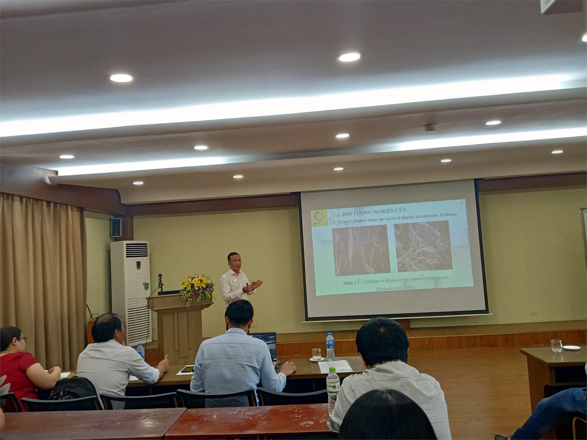 Hội thảo khoa học Khoa Công nghệ hóa