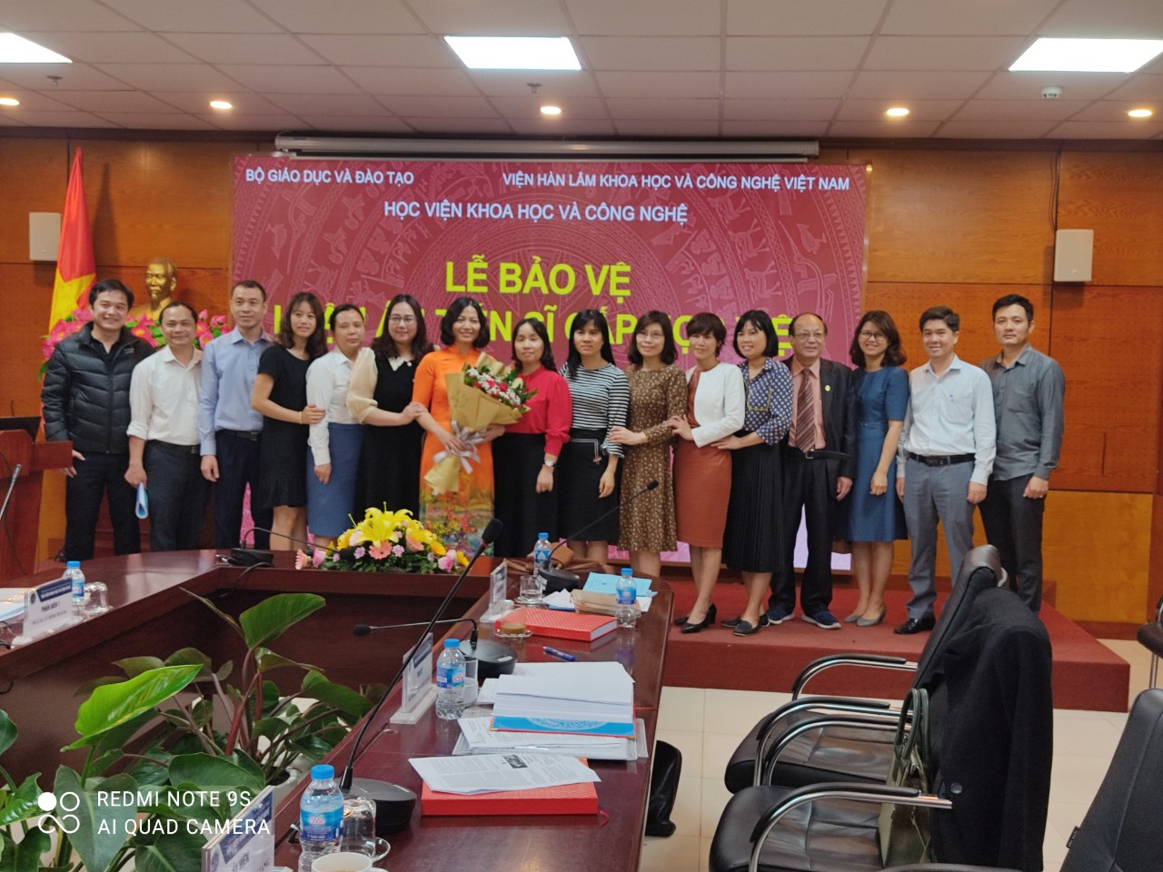 Giảng viên Nguyễn Thị Thoa bảo vệ thành công Luận án tiến sĩ cấp Học viện