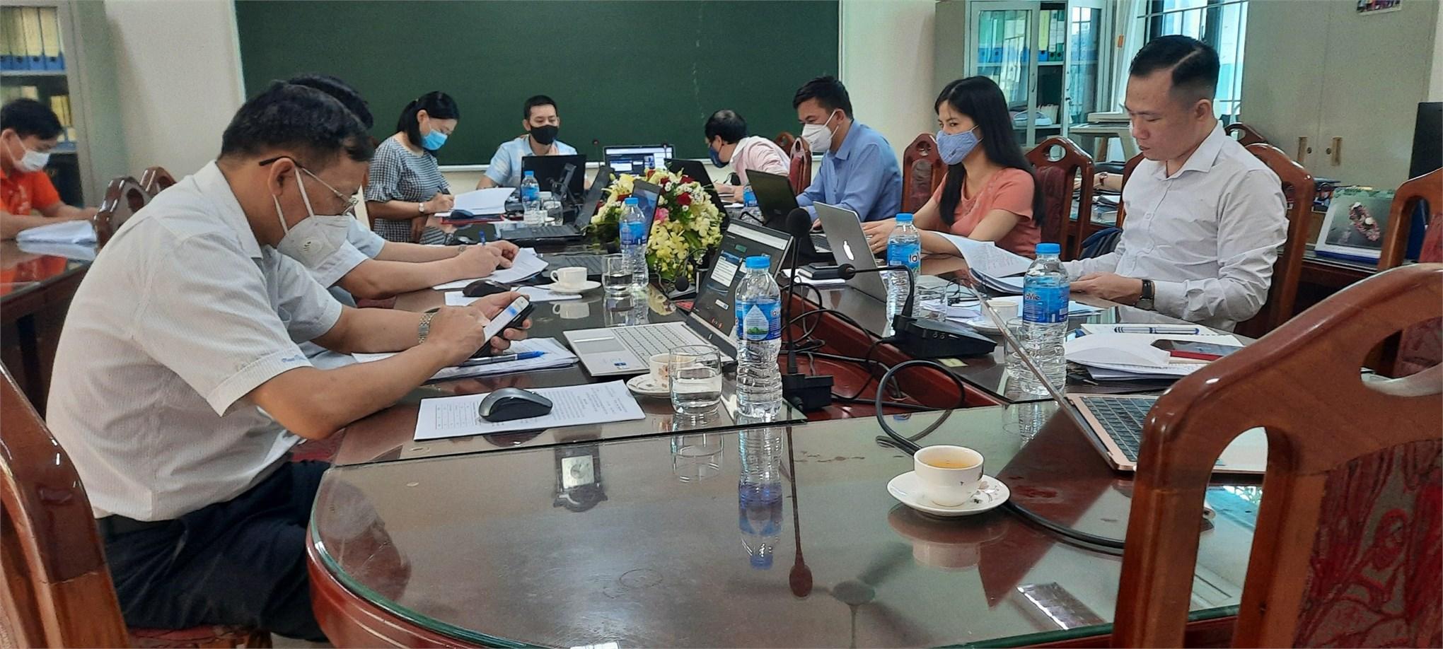 Hội nghị viên chức, người lao động tổng kết năm học 2020-2021 và triển khai nhiệm vụ năm học 2021-20222 khoa Công nghệ Hóa