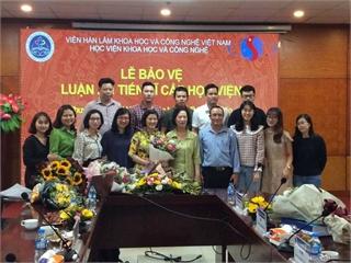 Giảng viên Nguyễn Thị Kim An bảo vệ thành công Luận án tiến sĩ cấp Viện