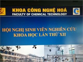 Hội nghị Sinh viên nghiên cứu khoa học lần thứ XII Hội đồng Công nghệ Hóa