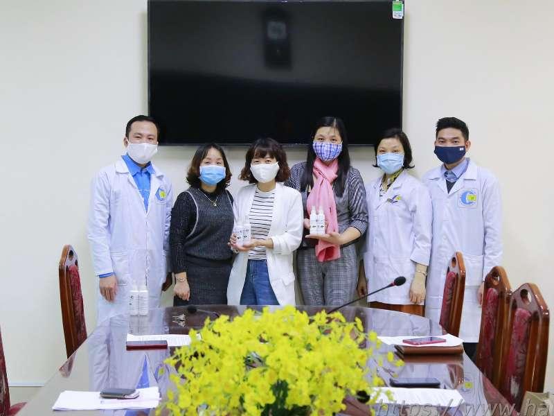 BCH Công đoàn Trường Đại học Công nghiệp Hà Nội thăm và làm việc với Công đoàn Khoa Công nghệ Hóa