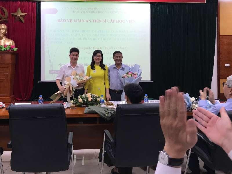 Giảng viên Vũ Thị Hòa bảo vệ thành công Luận án tiến sĩ cấp Viện